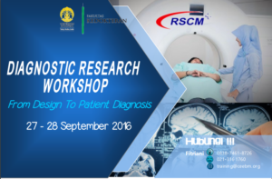 Diagnostic Research Workshop: from design to patient diagnosis