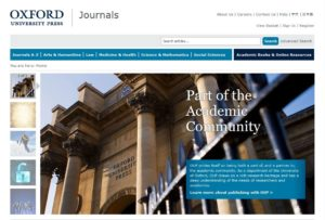 Trial Oxford Journals Online